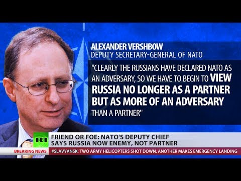Friend to Foe? NATO's Deputy Head classifies Russia as enemy over Ukrainian crisis