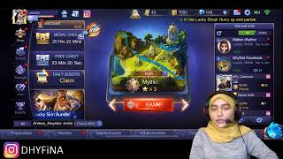 🔴[LIVE] Mobile Legends | happy monday !!!