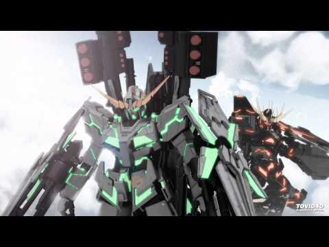 Gundam Unicorn OST 4 - 12. Sternengesang (with Musics)