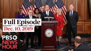 PBS NewsHour West Live Episode, Dec 10, 2019