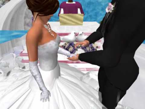 Second Life Wedding Of Bryan Babii and Diva Basevi March 20, 2009
