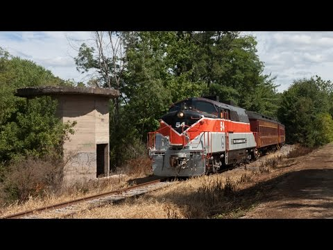HD: Chasing The Stourbridge Line - Honesdale, PA to Lackawaxen, PA and Return - 09-03-16