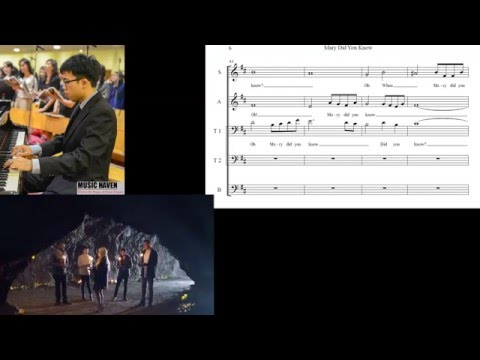 Mary, Did You Know? Pentatonix Choral Sheet Music(5-part: Sattb) video
