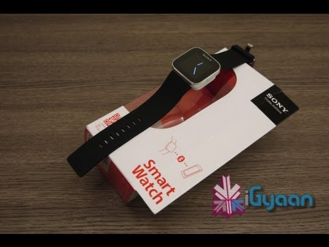 Sony SmartWatch Android Bluetooth Accessory Unboxing and Hands On- Xperia - iGyaan HD
