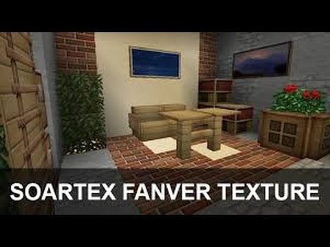 Minecraft 1.5.1 | Como descargar e instalar Soartex Fanver Texture Pack