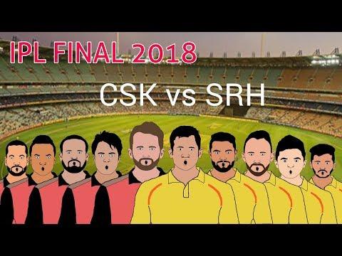 IPL final 2018 | chennai super kings vs sunrisers hyderabad final | DRESSING ROOM