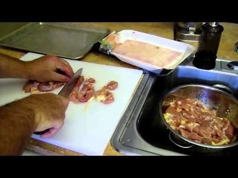 How To Make Homemade Chicken Sausage (part 3 Of 8) prepping The Meat video