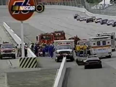 2001 Steve Park Larry Foyt III Darlington Crash NASCAR Busch Series