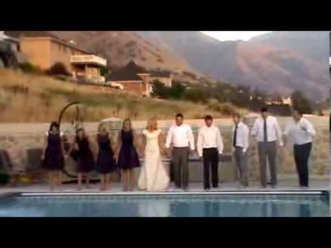 Bridal Party in the Pool Music Videos