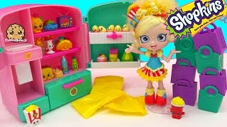 Shopkins Shoppies Doll Poppette Unboxing Season 3 12 Pack In The So Cool Fridge - Cookieswirlc