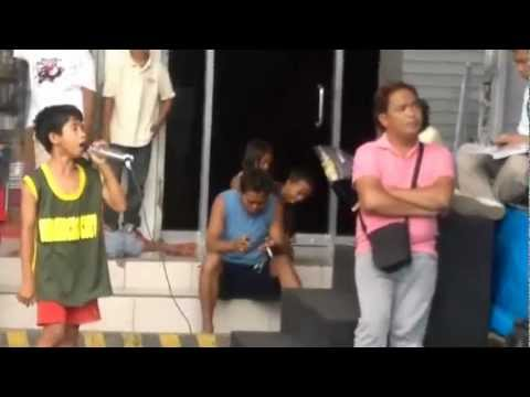 Filipino Boy Nails Whitney Houston Song