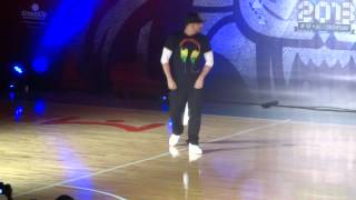 Hong Kong Best Dance Crew 2013-Judge Performance by Mr Wiggles