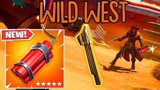 SO spielt man den neuen WILD WEST MODUS in Fortnite!