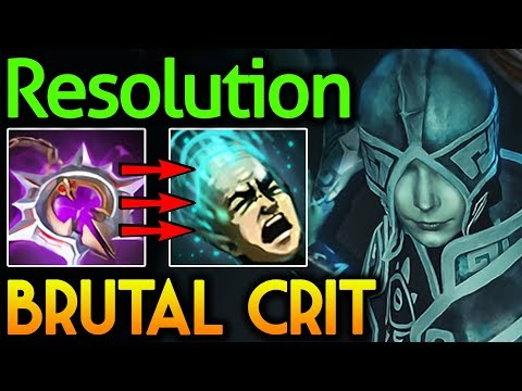 Resolution Dota 2 [Phantom Assassin] Brutal Crit with Nullifier