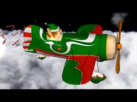 Обзоры мобильных игр - мультфильм про самолетик - новогодняя серия