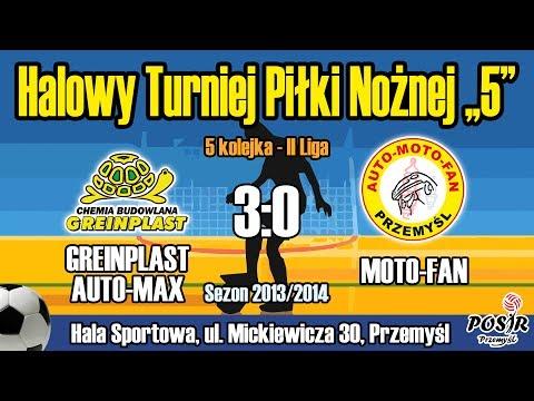 GREINPLAST AUTO-MAX - MOTO-FAN [cały Mecz] Liga Halowa