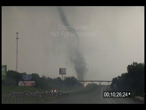 5/24/2011 High Risk Tornado Outbreak B-Roll Video