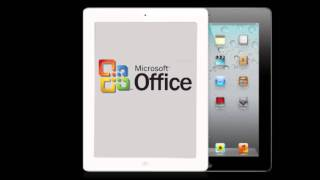 iPad Microsoft Office Suite - Coming 2012