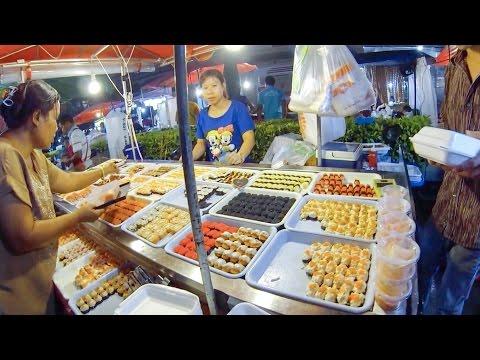 Ночной рынок Пхукета. Пляж Патонг, Таиланд. [Архив]