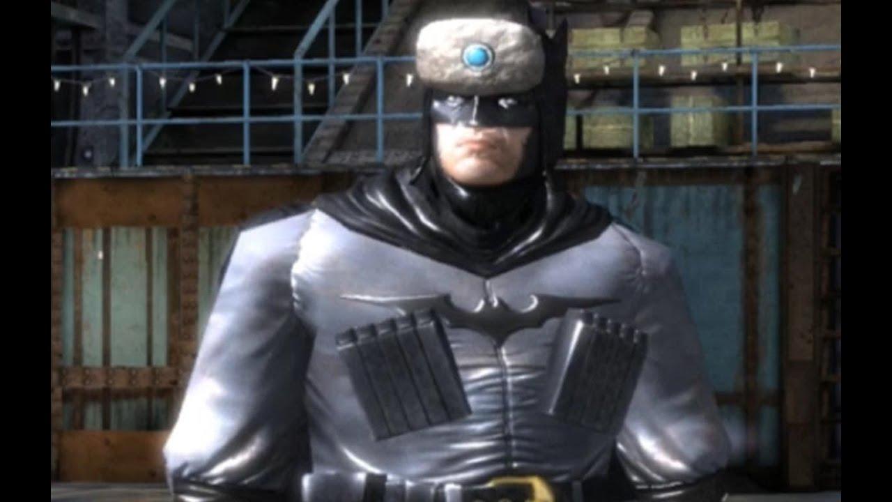 Batman: Arkham Origins - Red Son Batman Suit - YouTube