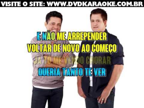 Bruno & Marrone   Essa História Eu Conheço