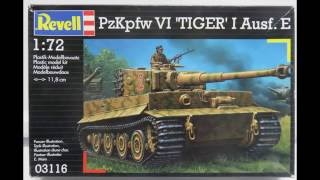 Revell AG 1/72 Tiger I E Build