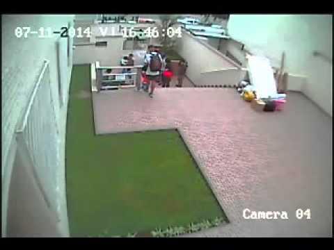 Accidente en ascensor de minusválidos