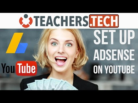 How to Set Up Google AdSense For Youtube  - NEW! 2017 Tutorial