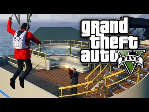 GTA 5 Online - ATTACKING A YACHT! (GTA V Online)