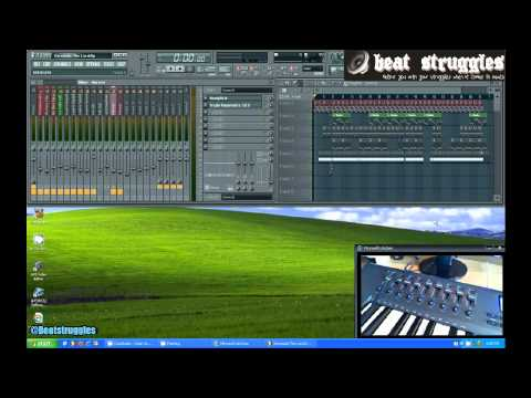 FL STUDIO 10 Tutorial: FL Studio Midi Keyboard Slider Set Up (Axiom 49 2nd Gen)