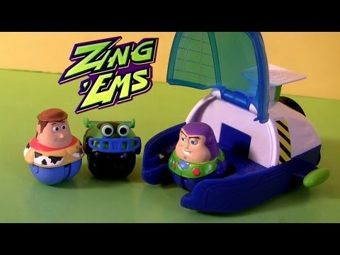 Rc Car Action >> Zing Ems Spaceship Launcher Playset Toy Story Disney Launch Woody Buzz Lightyear RC car - YouTube