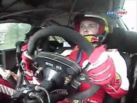 2009 WRC Finland Novikov Jump