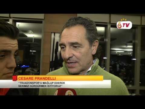 GSTV | Cesare Prandelli'den Trabzonspor Maçı İle İlgili Açıklamalar