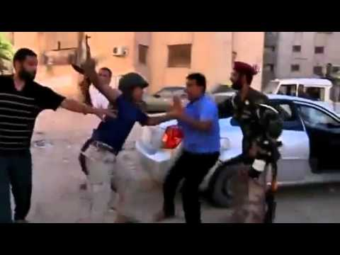 L'arresto degli agenti di Gheddafi in Abu Salim - The arrest of of Gaddafi's agents in Abu Salim
