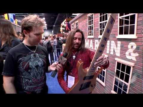 Dean Guitars Artist Rusty Cooley sees his NEW signature Dean Guitars at 2013 NAMM.