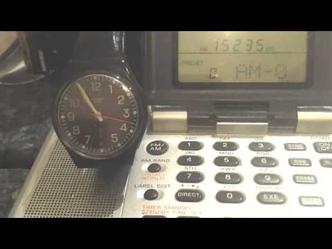 Final moments of Radio Canada transmission on 15235khz, 24th June 2012