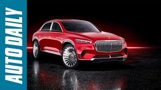 Vision Mercedes Maybach Ultimate Luxury Concept: Crossover siêu đẳng cấp  AUTODAILY.VN 