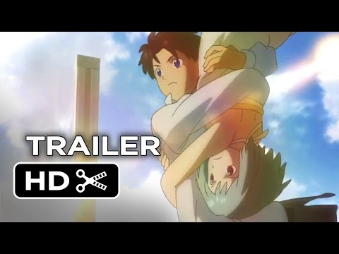 Patema Inverted Official Trailer 1 (2014) - Animated Movie HD