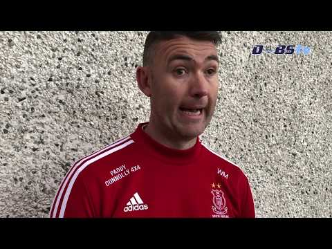 Cuala manager Willie Maher speaks to Dubs TV after winning Senior A Hurling title