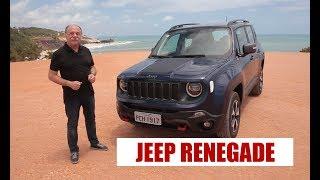 Jeep Renegade 2019 - Primeiras impressões por Emilio Camanzi