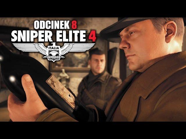 Sniper Elite 4: Italia PL #8 - Jajka żołnierza obok Klasztoru Abrunza - PC
