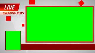 Live Breaking News Frem HD Green Croma Intro