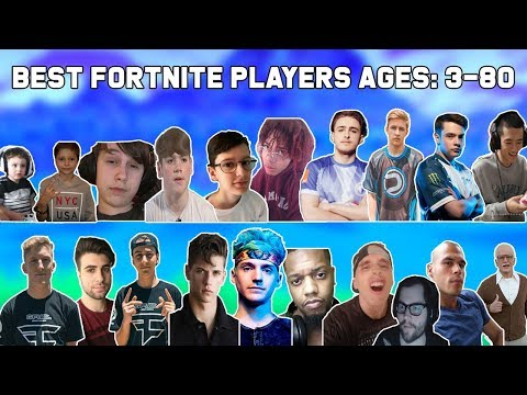 Best Fortnite Player At Every Age | Ages 3 To 80 Fortnite Players