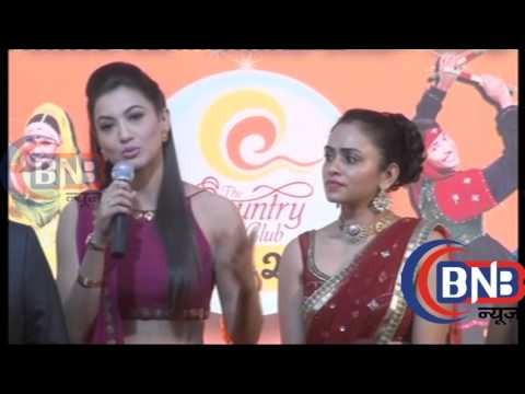 Gauhar Khan   Asha Negi   Great Indian Navratri Utsav   Press conference