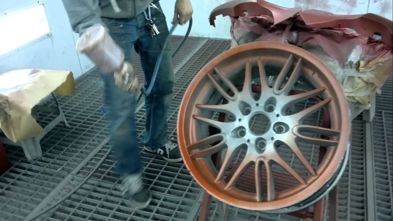 Rims For Cheap >> Painting Rims for a BMW M5 E39 - YouTube