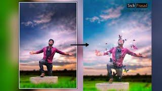 Viral WhatsApp status video editing//Meitu app in telugu//Tech Prasad