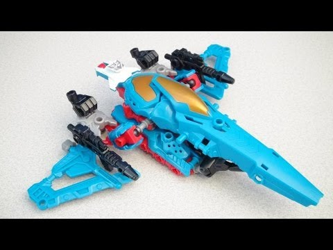 THUNDERCRACKER CONSTRUCTBOTS TRANSFORMERS DECEPTICON SEEKER BUILD SET VIDEO TOY REVIEW