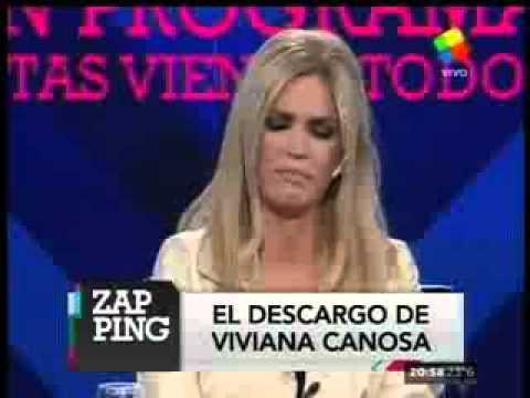 Viviana Canosa se quebró en Zapping y denunció amenazas políticas