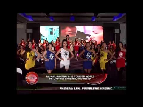 Launching of 1st Miss Tourism World Philippines