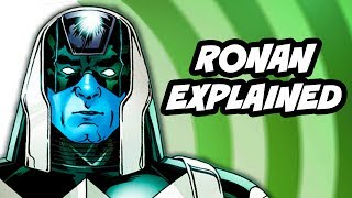 Guardians Of The Galaxy - Ronan The Accuser Explained